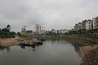 Dongxing, Guangxi County-level city in Guangxi, Peoples Republic of China