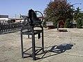 Bell at Ashburn Station Park.JPG