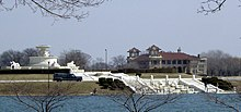 James Scott Fountain and Belle Isle Casino