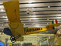 Ben Eielson Jenny replica, Fairbanks International Airport main terminal.JPG