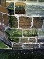 Benchmark on St Sepulchre's Church - geograph.org.uk - 2266052.jpg