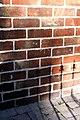 Benchmark on side of ^63 Wood Walk - geograph.org.uk - 2628541.jpg