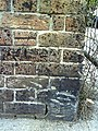 Benchmark on wall at entrance to Dorset Fencing ^ Shed Supplies' yard, Icen Way - geograph.org.uk - 2095771.jpg