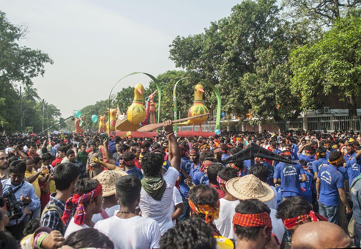 April Calendar Events : Mangal shobhajatra wikipedia
