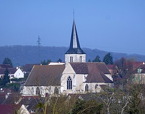 Bennecourt - The church of Saint-Ouen, in Bennecourt