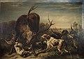 Benno Raffael Adam - Hirsch, von Hunden gestellt - 7900 - Kunsthistorisches Museum.jpg