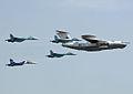 Beriev A-50, Sukhoi Su-27, Sukhoi Su-30 (4712407674).jpg