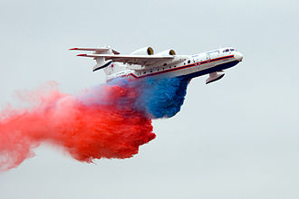 Beriev Be-200 - Be-200ChS at the 10th edition of the MAKS Airshow