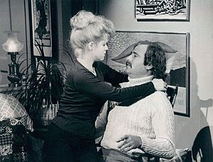 Rob Reiner - Reiner (with Bernadette Peters) as Michael Stivic on All in the Family, 1976