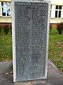 Bernartice Freiheitskämpfer Denkmal Namensliste.jpg