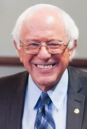 New York Democratic primary, 2016 - Image: Bernie Sanders September 2015 cropped