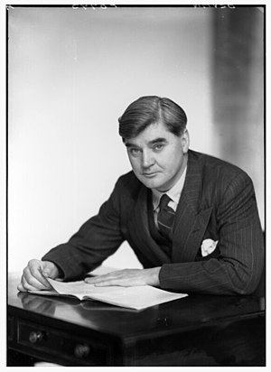Aneurin Bevan, the founder of the NHS BevanMP.jpg