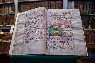 graduel du couvent des clarisses d'Alspach