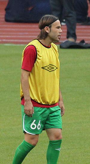 Bibras Natkho - Natkho training ahead of the match for Rubin Kazan.