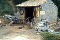 Bicycle repair facility in China, 1987.jpg
