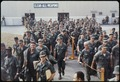Bien Hoa, Vietnam. Personnel destined to return to the U.S., wait at the Bien Hoa Air Terminal for a National... - NARA - 530628.tif