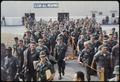 Bien Hoa, Vietnam. Personnel destined to return to the U.S., wait at the Bien Hoa Air Terminal for a National... - NARA - 530628.tif