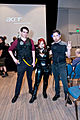 Big Wow 2013 - Hawkeye, Black Widow & Tony Stark (8845758305).jpg