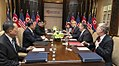 Bilateral meeting with respective delegations during the DPRK–USA Singapore Summit (4).jpg