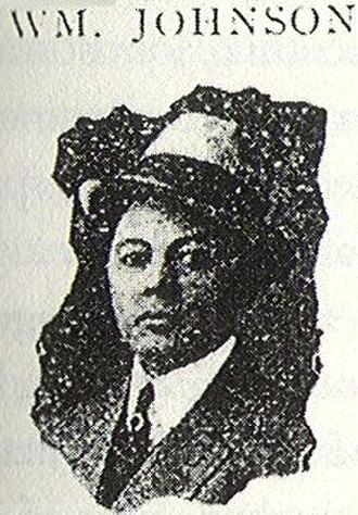 William Manuel Johnson - Johnson in 1909