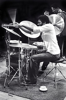 Billy Hart American jazz drummer