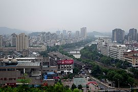 Bird view of Yuyao, 2014-08.JPG