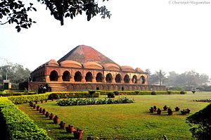 West Bengal - The temple city of Bishnupur is home to several architecturally significant terracotta Hindu temples.