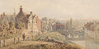 John Joseph Cotman - Bishop's Bridge, Norwich, 1872