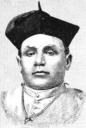 Francisco Mora y Borrell - Archbishop Mora while still Bishop of Monterey-Los Angeles (ca. 1860)