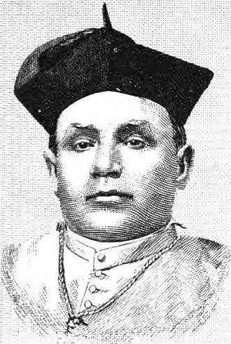 Francisco Mora y Borrell - Archbishop Mora while still Bishop of Monterey-Los Angeles (ca. 1860)