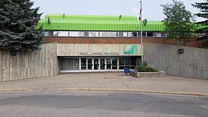 Bishop James Mahoney High School - Image: Bishop James Mahoney High School (Saskatoon)
