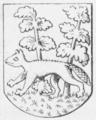 Bjæverskov Herreds våben 1610.png