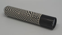 Black and white Kaleidoscope tube.jpg