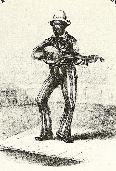 fileblackface banjo player at circusjpg wikimedia commons