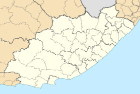 Blank map of the Eastern Cape (2011).svg