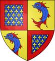 Blason Charles de France fr Dauphin duc Normandie.png