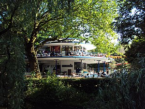 Vondelpark - The Blauwe Theehuis in 2010