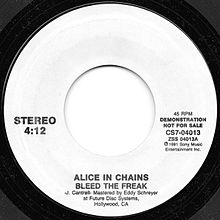 Bleed the Freak by Alice in Chains promo vinyl.jpg