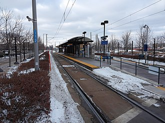 Bloomington Central station - Bloomington Central station in 2015