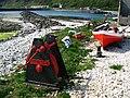 Boat and winch, Rathlin Island - geograph.org.uk - 818689.jpg