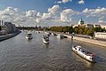 Boats on river Moskva.jpg