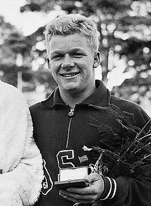 Bob Clotworthy - Clotworthy at the 1952 Olympics