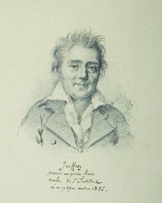 Romain-Vincent Jeuffroy - Portrait by Julien-Léopold Boilly