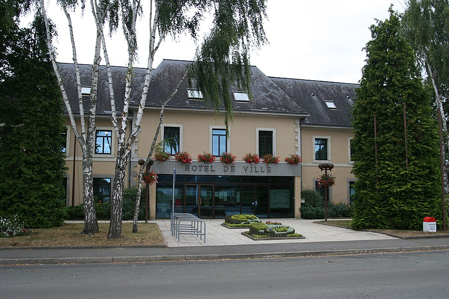 Mairie de Bonchamp-lès-Laval.