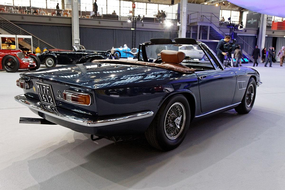 File:Bonhams - The Paris Sale 2012 - Maserati Mistral 4000 Spyder - 1966 - 015.jpg - Wikimedia ...
