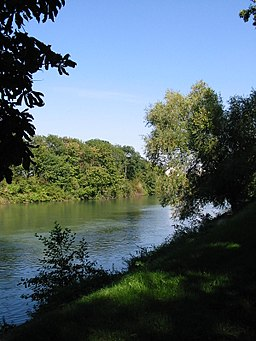 The Mar river in Noisy-le-Grand