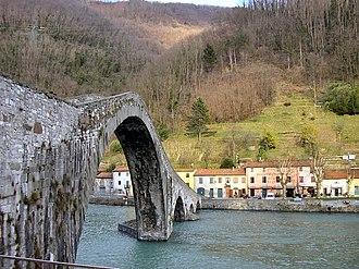 Borgo a Mozzano - Ponte della Maddalena.