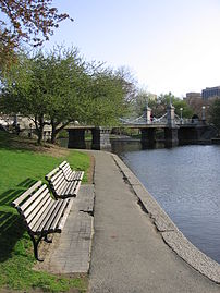 "Boston Public Garden, the second ""jewel"" of the Emerald Necklace"