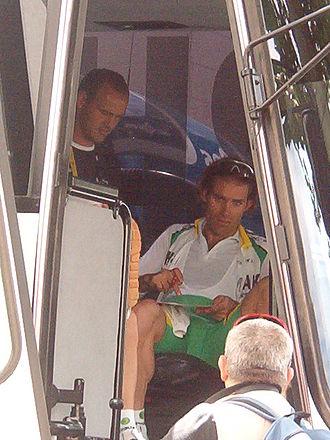Santiago Botero - Botero at the 2005 Tour de France