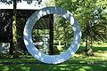 Bottrop - Im Stadtgarten - Stadtgarten - Quadrat - Park - Scultura Progetto No 205 (Marcello Morandini) 02 ies.jpg